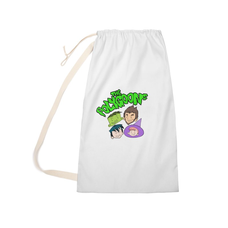 Group + Logo Accessories Laundry Bag Bag by The Polygoons' Shop