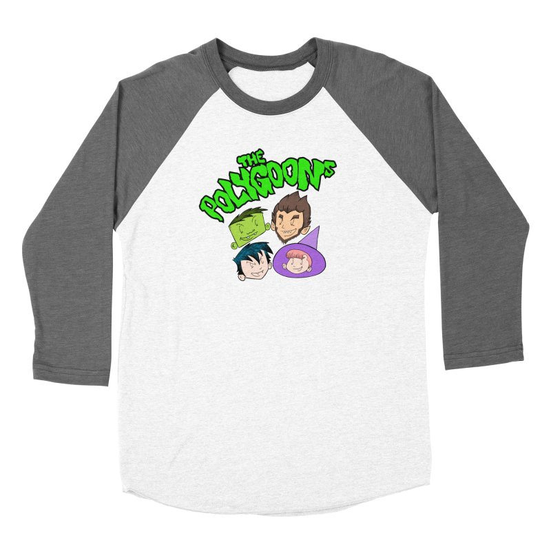 Group + Logo Women's Longsleeve T-Shirt by The Polygoons' Shop
