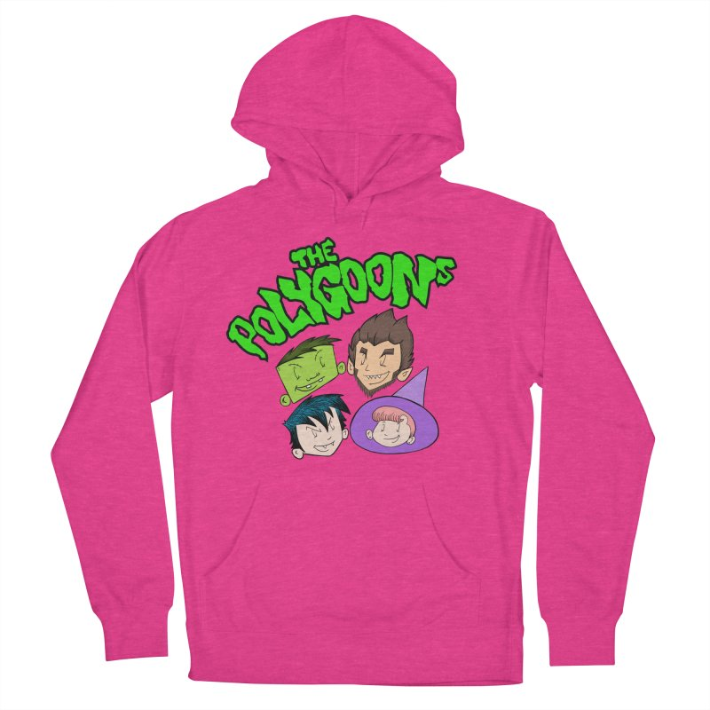 Group + Logo Women's French Terry Pullover Hoody by The Polygoons' Shop