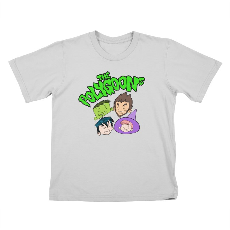 Group + Logo Kids T-Shirt by The Polygoons' Shop