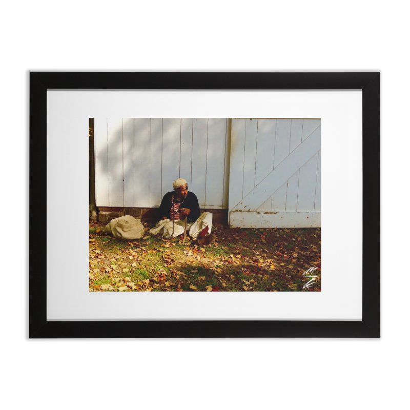 Sailor at Rest Home Framed Fine Art Print by Melissa's Photos