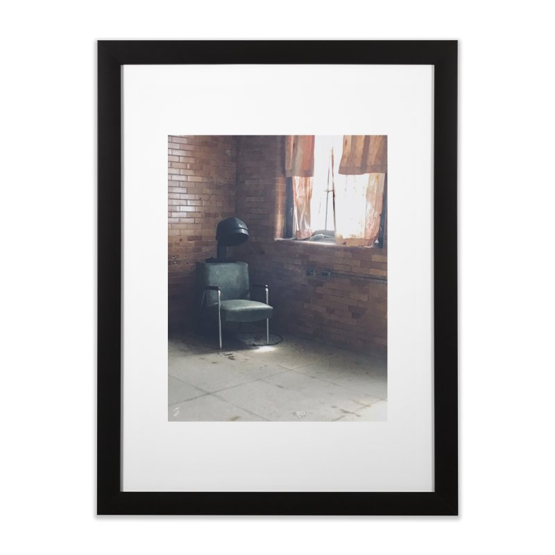 Beauty Parlor Home Framed Fine Art Print by Melissa's Photos