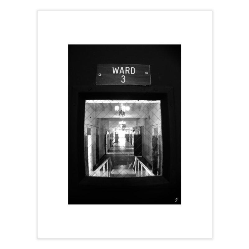 Ward 3 Home Fine Art Print by Melissa's Photos