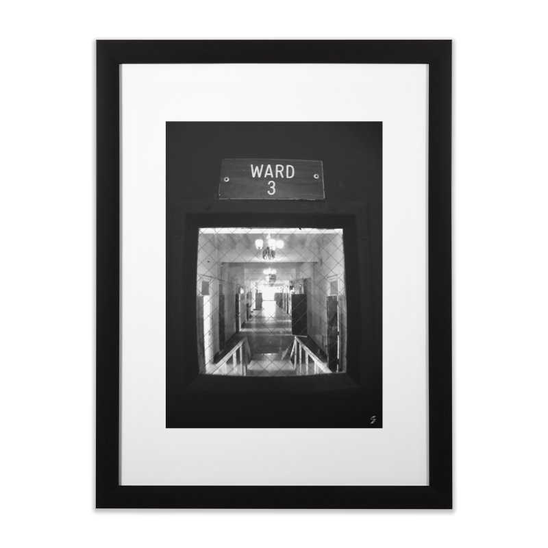 Ward 3 Home Framed Fine Art Print by Melissa's Photos