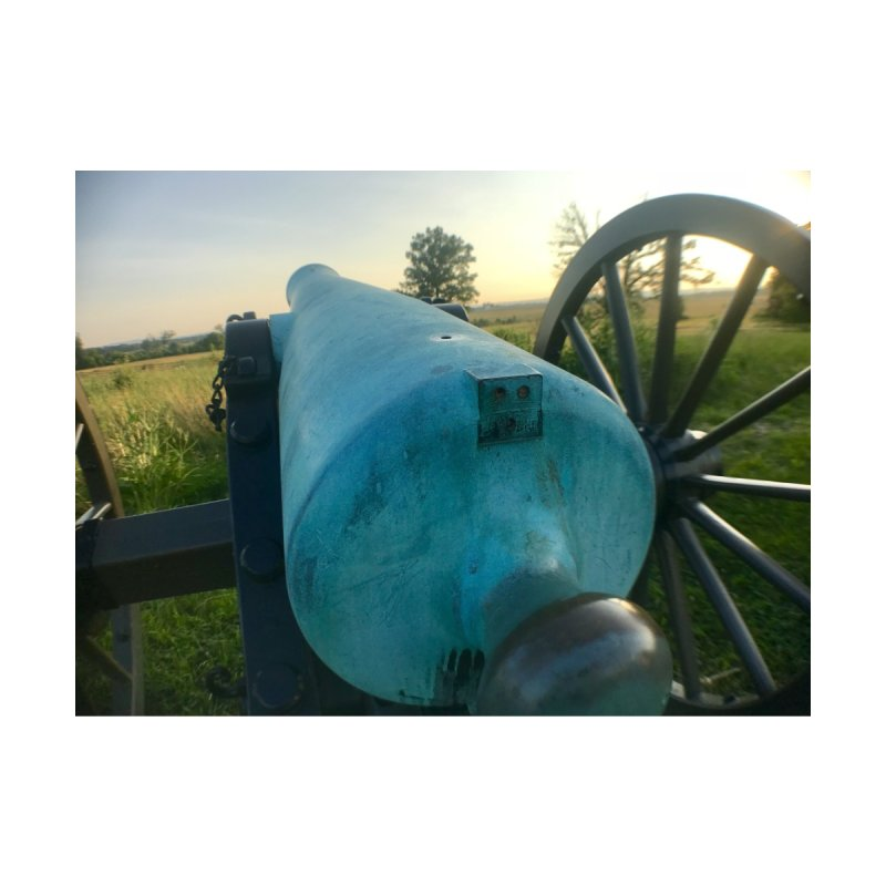 Cannon at the Ready by Melissa's Photos