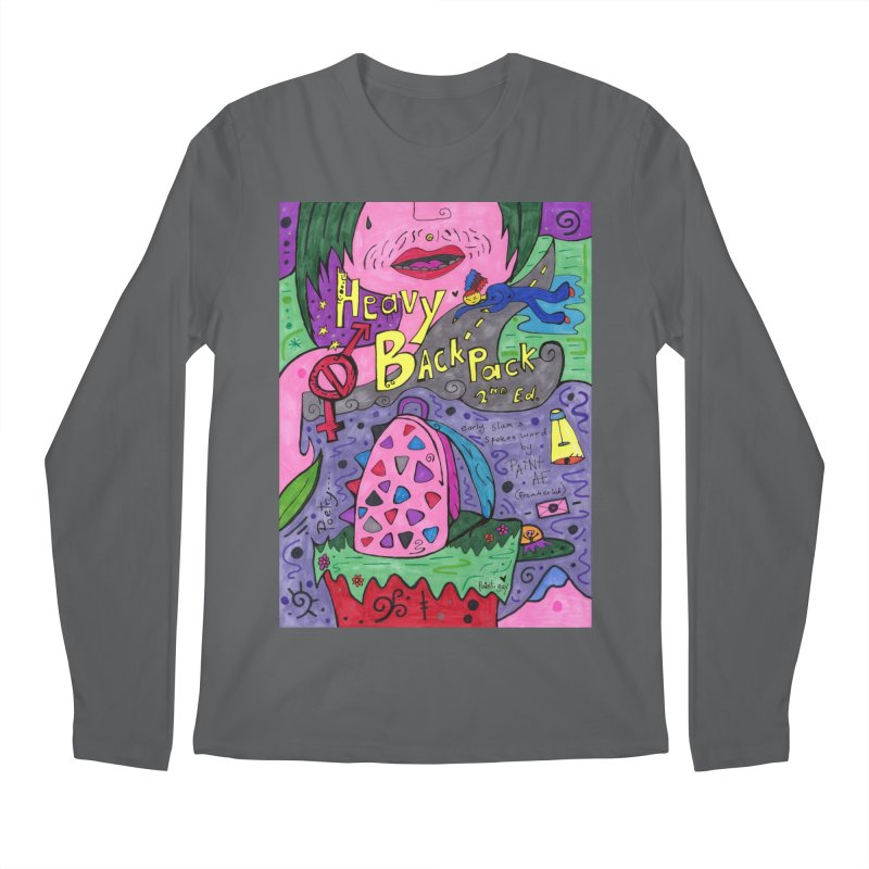 Heavy BackPack Comfortable Styles Longsleeve T-Shirt by Paint AF's Artist Shop