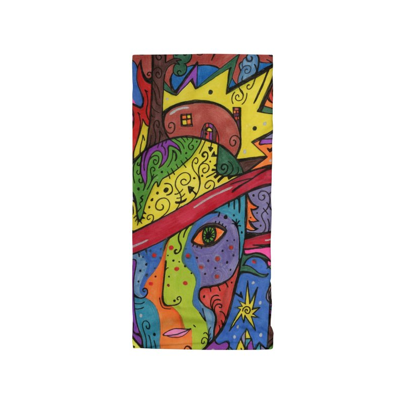 Intent: Manifesting Unity Masks, Gifts & Accessories Neck Gaiter by Paint AF's Artist Shop