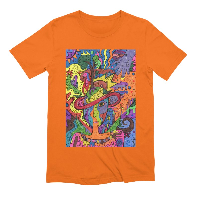 Intent: Manifesting Unity Comfortable Styles T-Shirt by Paint AF's Artist Shop