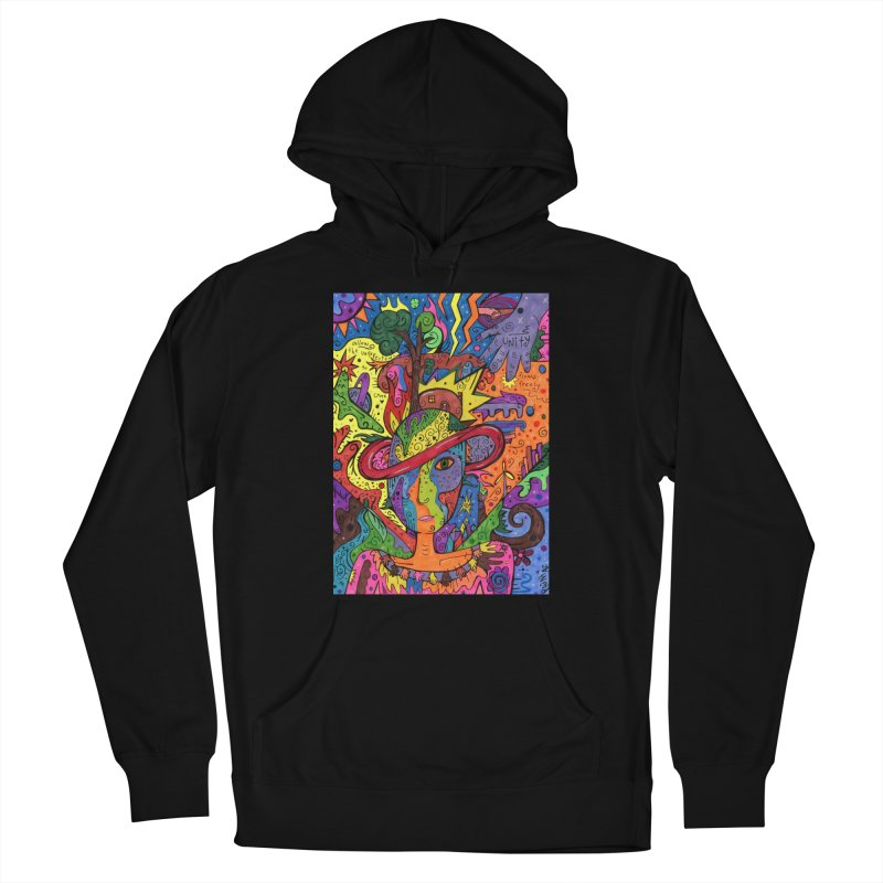 Intent: Manifesting Unity Comfortable Styles Pullover Hoody by Paint AF's Artist Shop