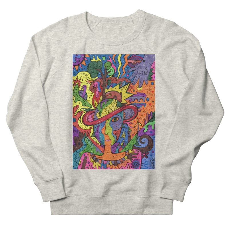 Intent: Manifesting Unity Comfortable Styles Sweatshirt by Paint AF's Artist Shop
