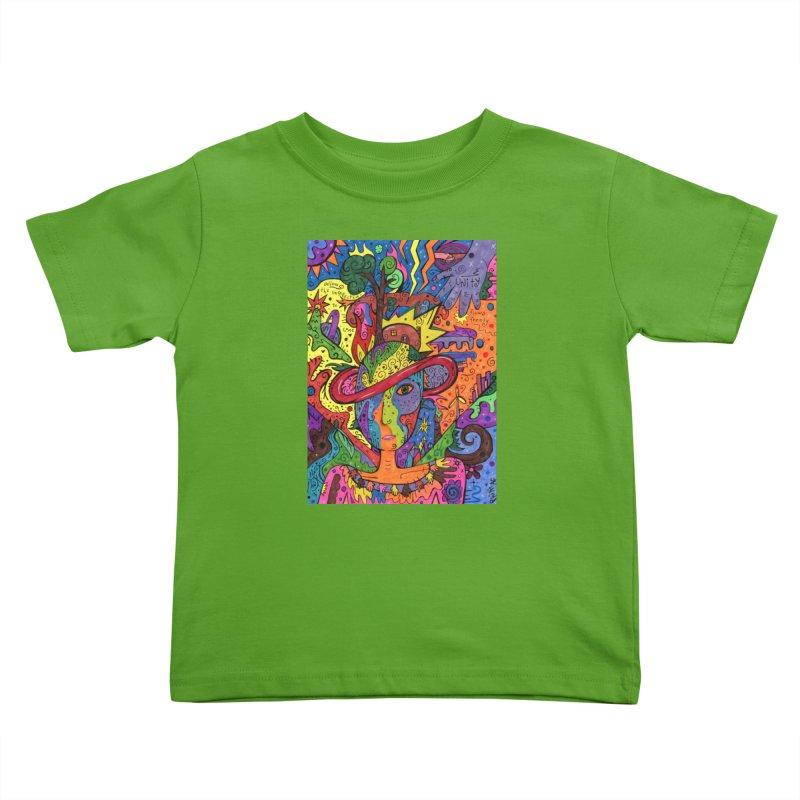 Intent: Manifesting Unity Kids Toddler T-Shirt by Paint AF's Artist Shop