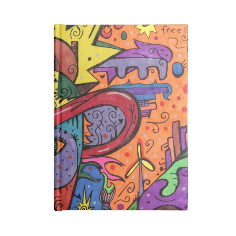 Intent: Manifesting Unity Masks, Gifts & Accessories Notebook by Paint AF's Artist Shop
