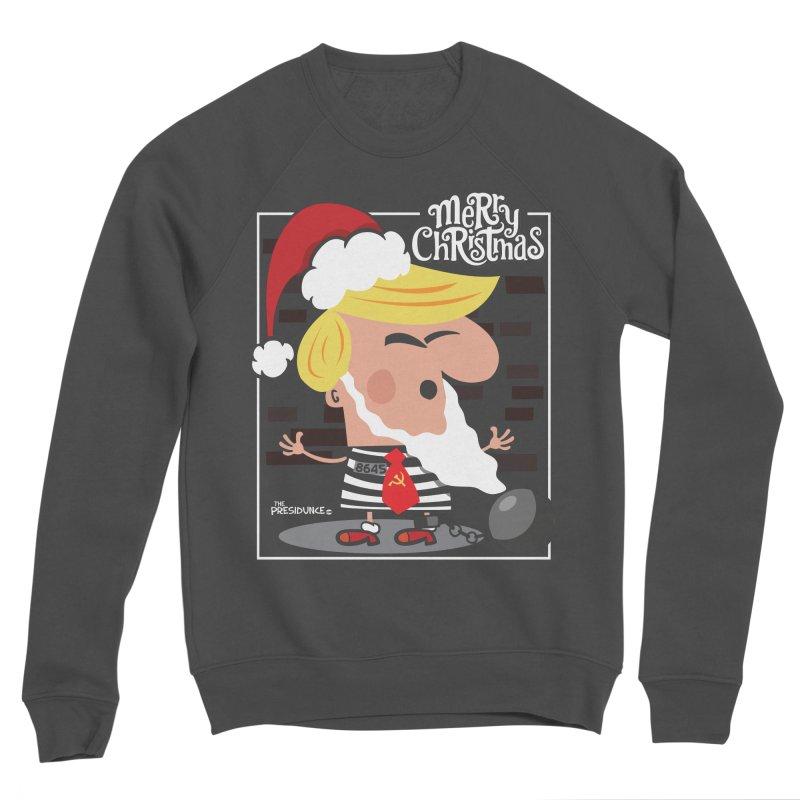 Merry Christmas Women's Sponge Fleece Sweatshirt by thePresidunce