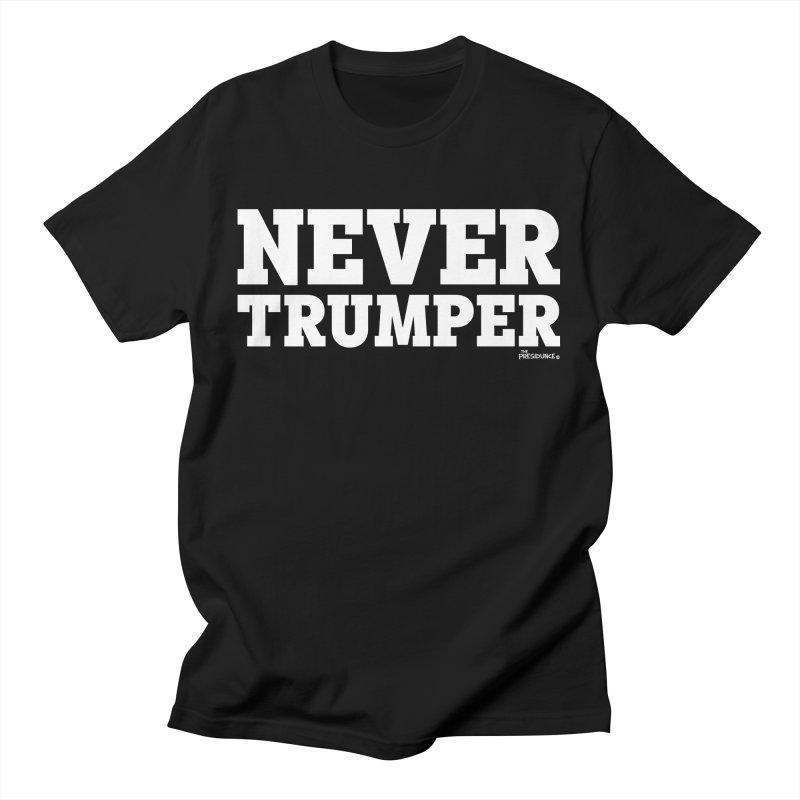 Never Trumper Men's T-Shirt by thePresidunce