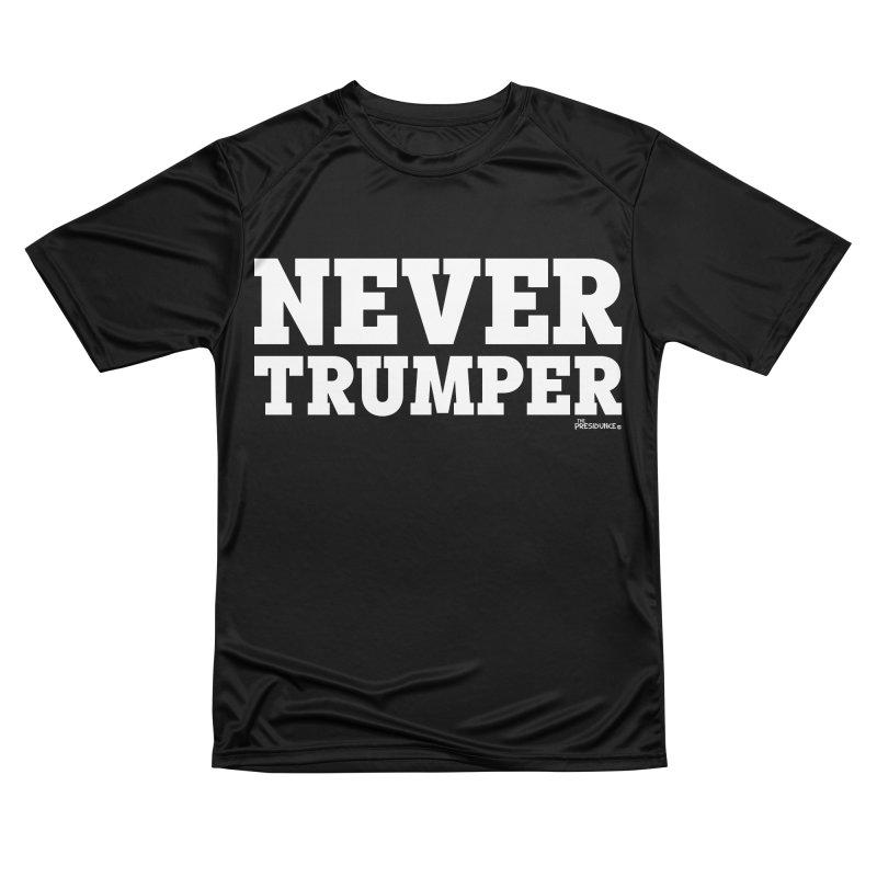 Never Trumper Women's T-Shirt by thePresidunce