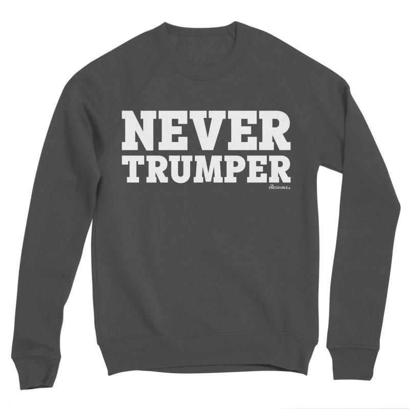 Never Trumper Men's Sponge Fleece Sweatshirt by thePresidunce