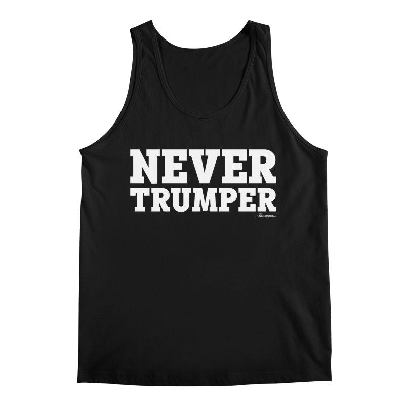 Never Trumper Men's Regular Tank by thePresidunce