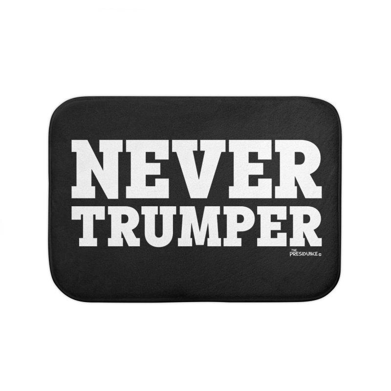 Never Trumper Home Bath Mat by thePresidunce