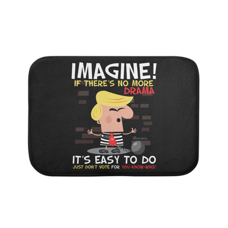 Imagine If Home Bath Mat by thePresidunce
