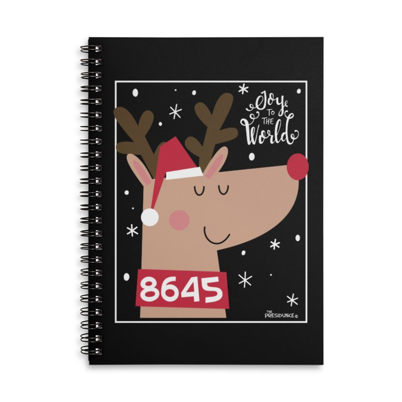 Joy to the World Accessories Notebook by thePresidunce