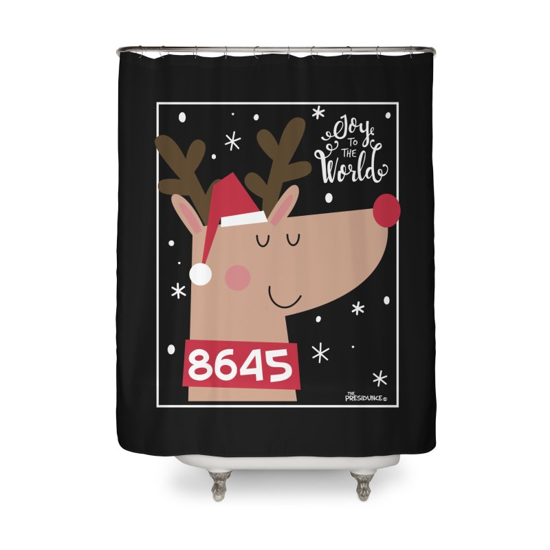 Joy to the World Home Shower Curtain by thePresidunce