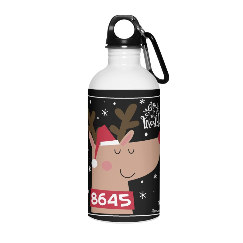 Joy to the World Accessories Water Bottle by thePresidunce
