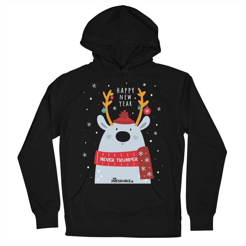Happy New Year Men's French Terry Pullover Hoody by thePresidunce