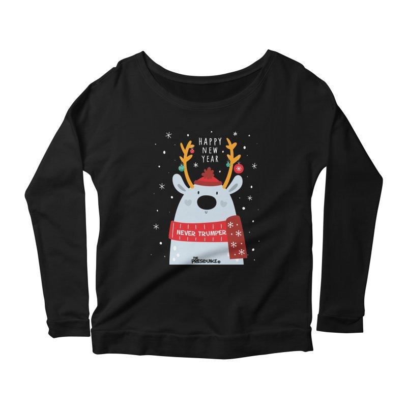 Happy New Year Women's Scoop Neck Longsleeve T-Shirt by thePresidunce