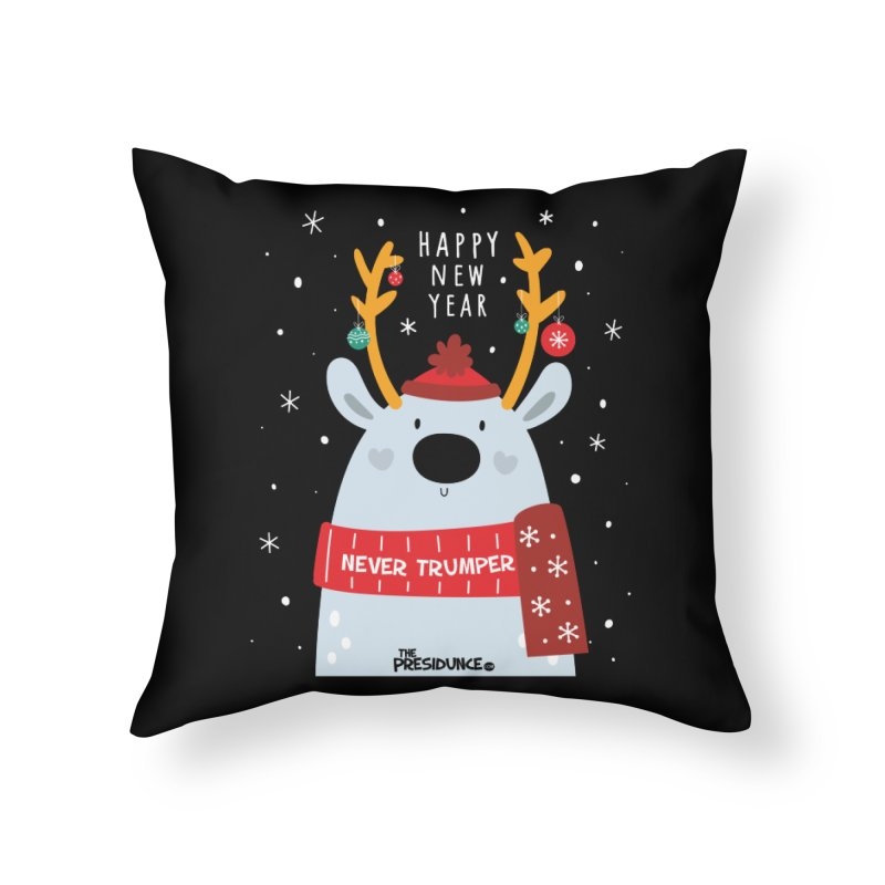 Happy New Year Home Throw Pillow by thePresidunce