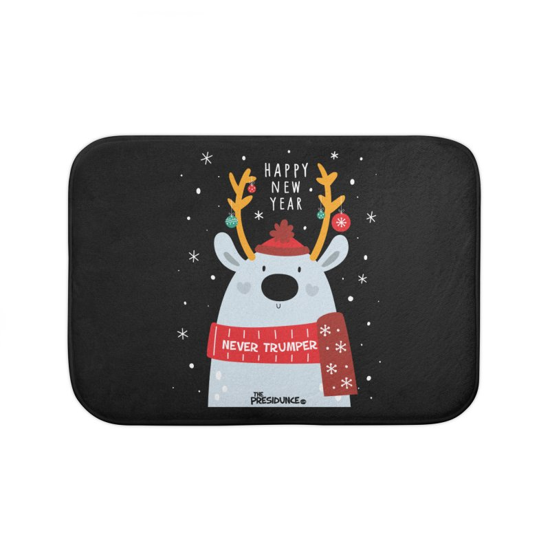 Happy New Year Home Bath Mat by thePresidunce