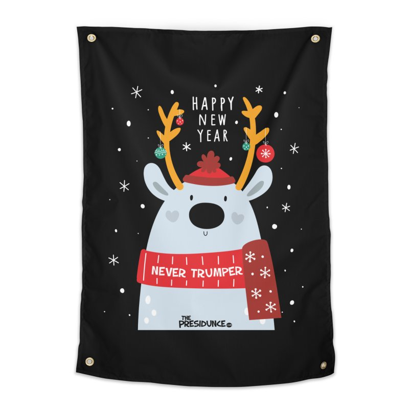 Happy New Year Home Tapestry by thePresidunce