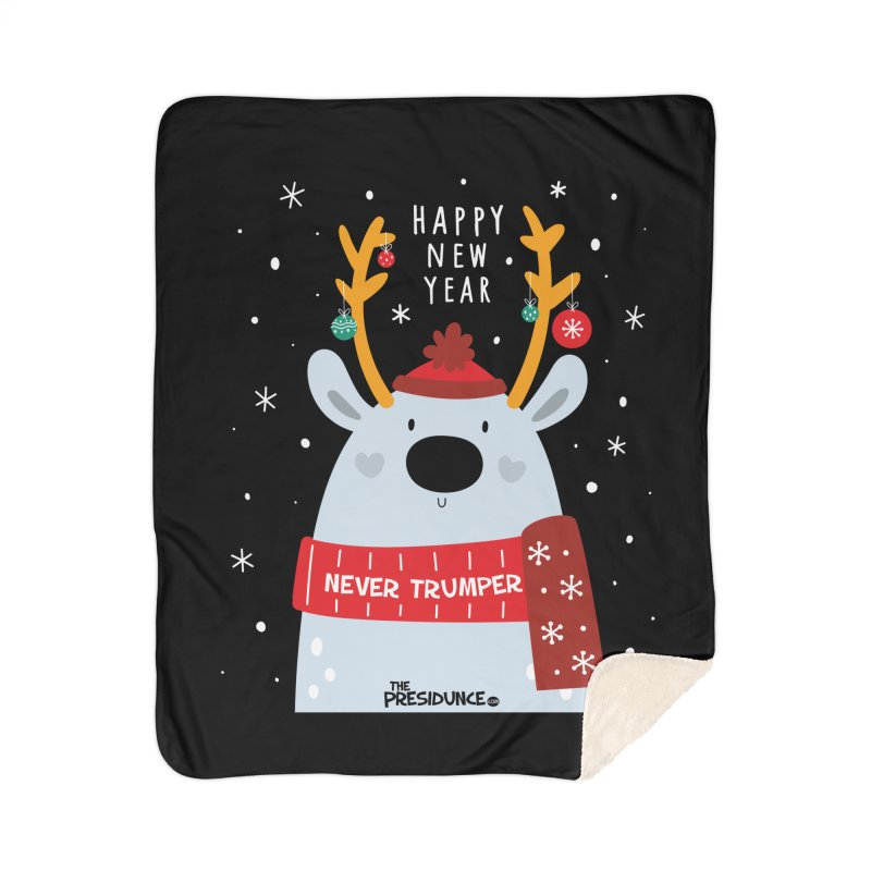 Happy New Year Home Sherpa Blanket Blanket by thePresidunce