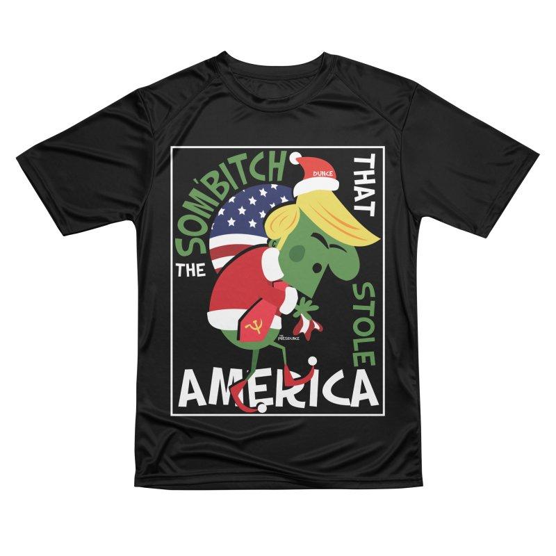 Som'Bitch Men's Performance T-Shirt by thePresidunce