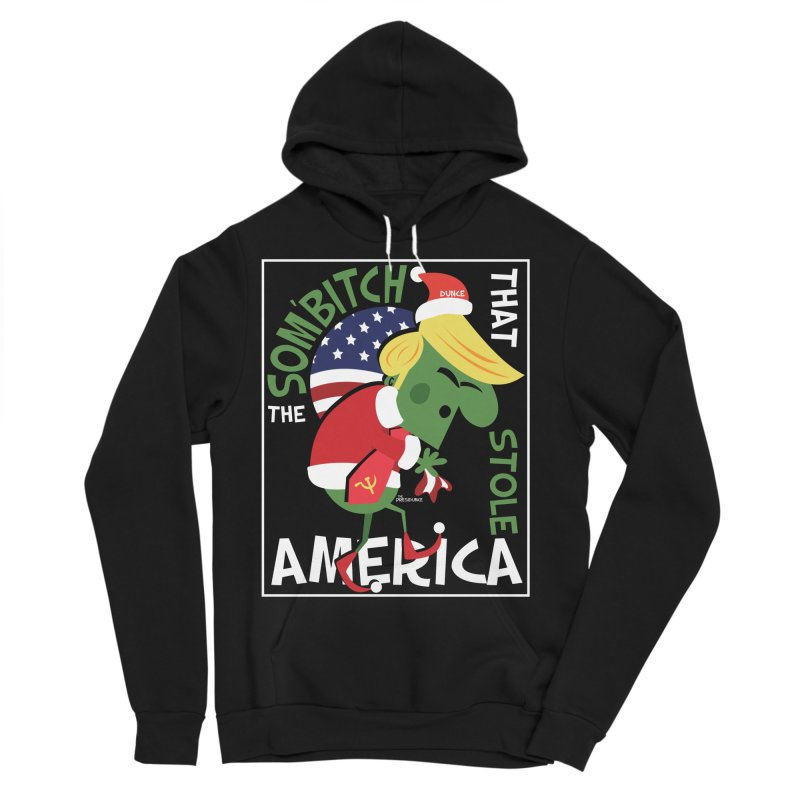 Som'Bitch Men's Sponge Fleece Pullover Hoody by thePresidunce
