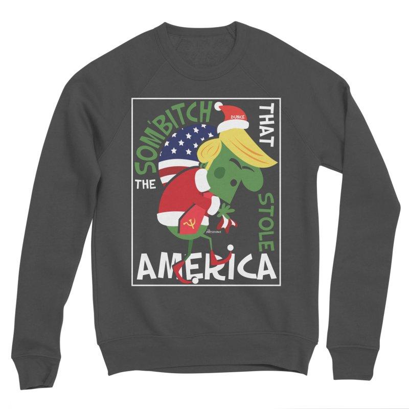 Som'Bitch Men's Sponge Fleece Sweatshirt by thePresidunce
