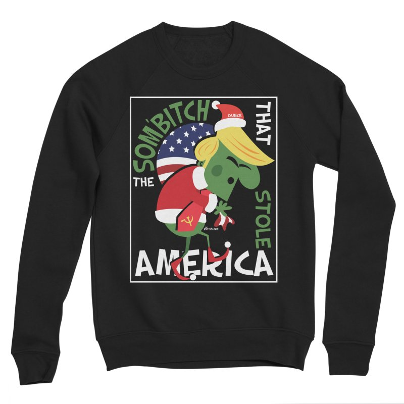 Som'Bitch Men's Sponge Fleece Sweatshirt by thePresidunce