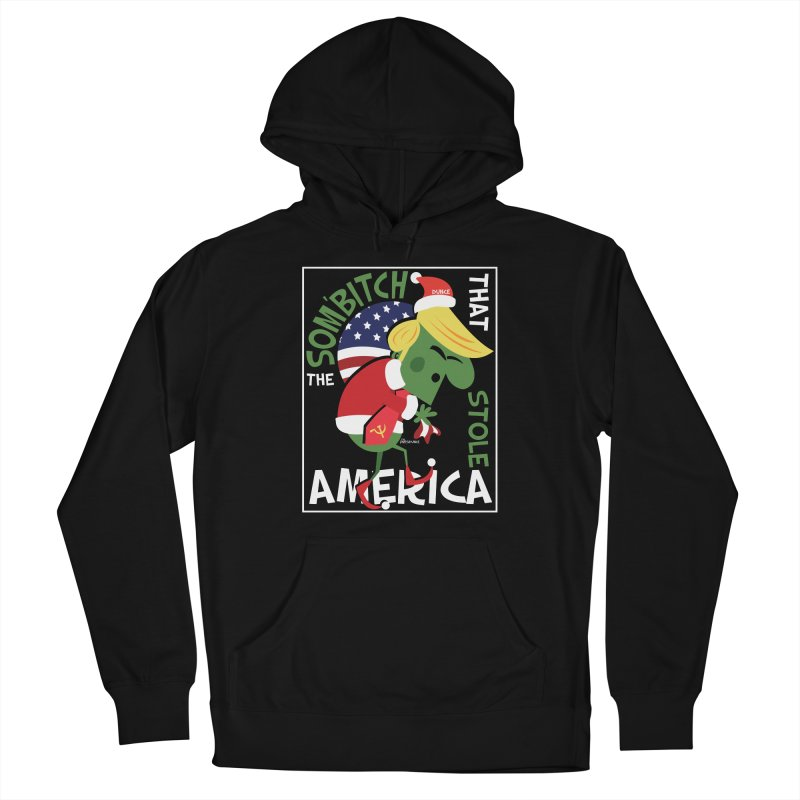 Som'Bitch Men's French Terry Pullover Hoody by thePresidunce