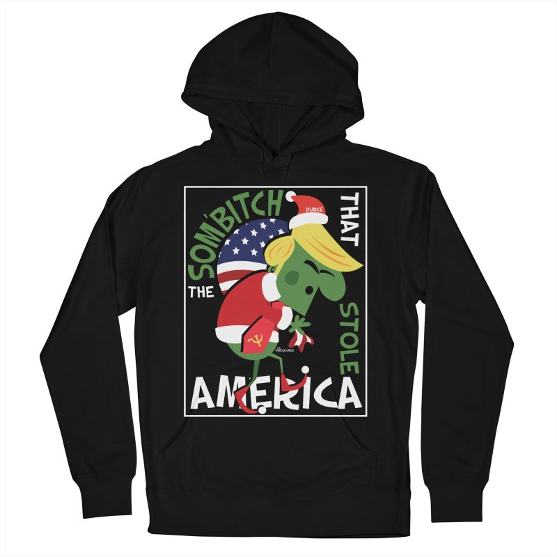 Som'Bitch Women's French Terry Pullover Hoody by thePresidunce