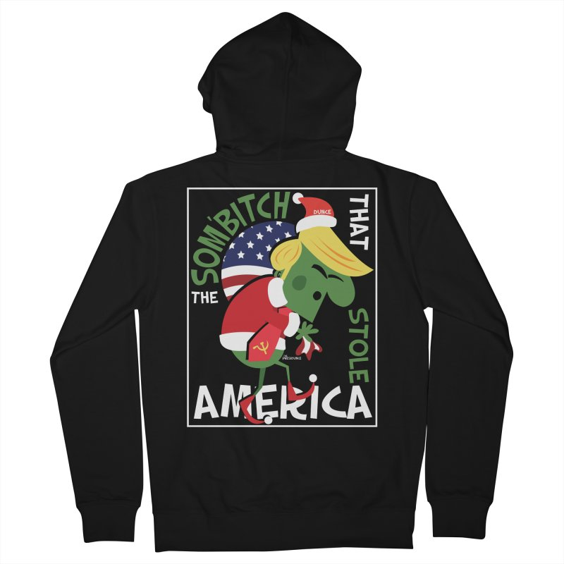 Som'Bitch Men's Zip-Up Hoody by thePresidunce