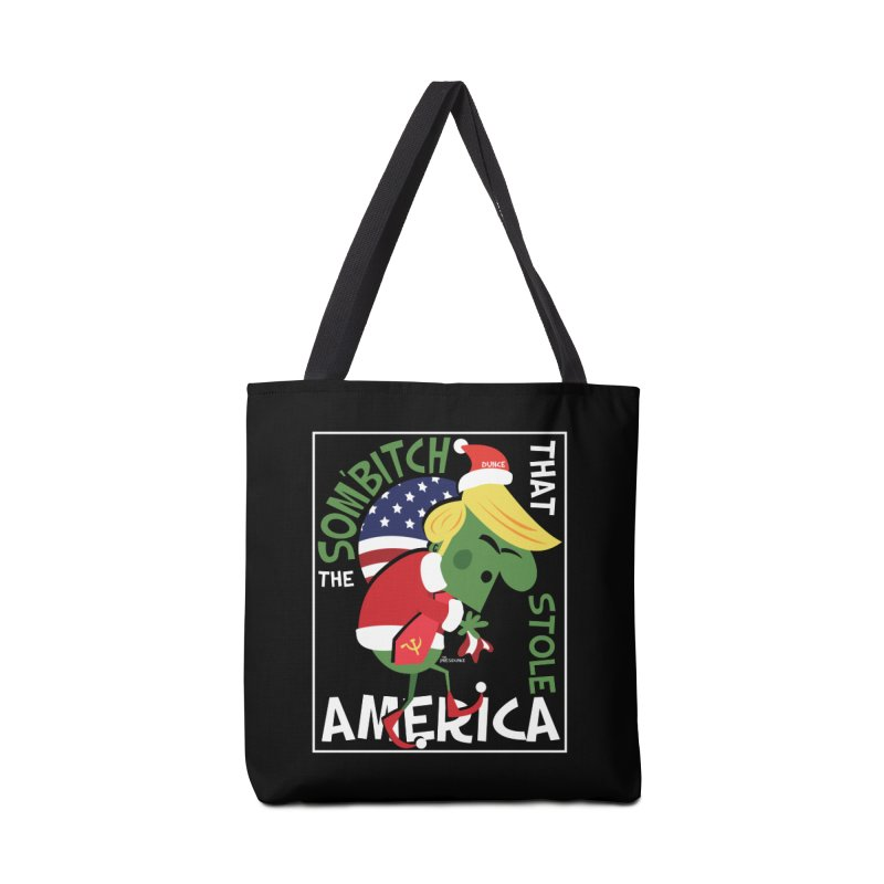 Som'Bitch Accessories Tote Bag Bag by thePresidunce