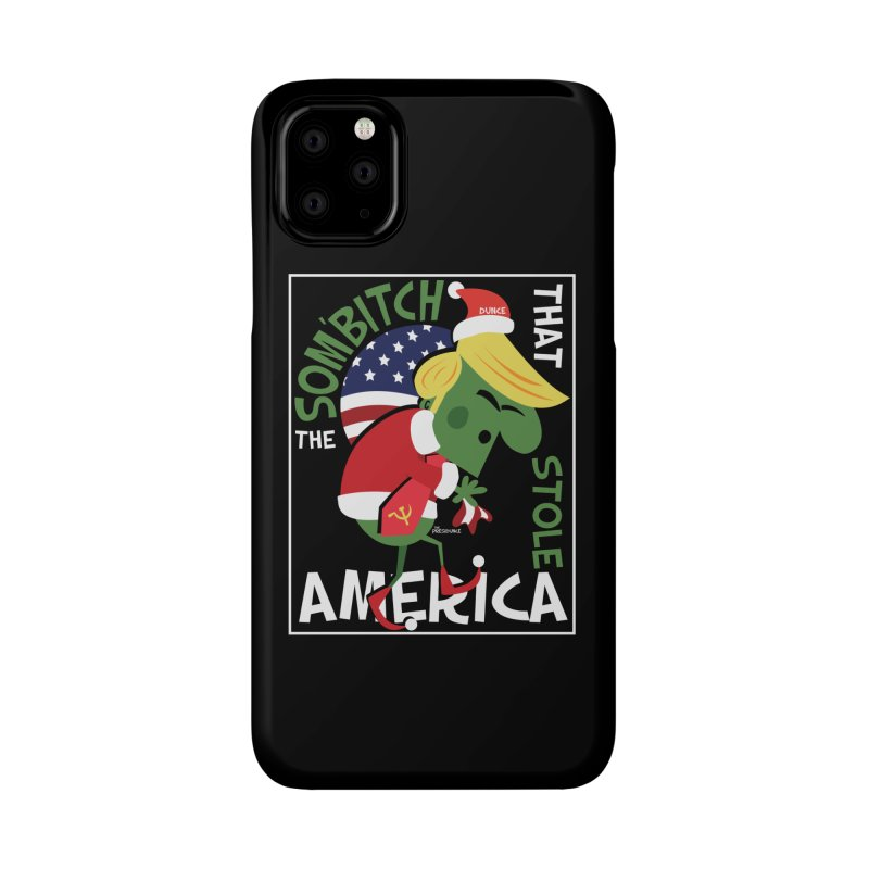 Som'Bitch Accessories Phone Case by thePresidunce