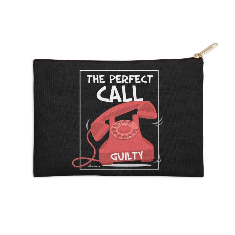 The Perfect Call Accessories Zip Pouch by thePresidunce
