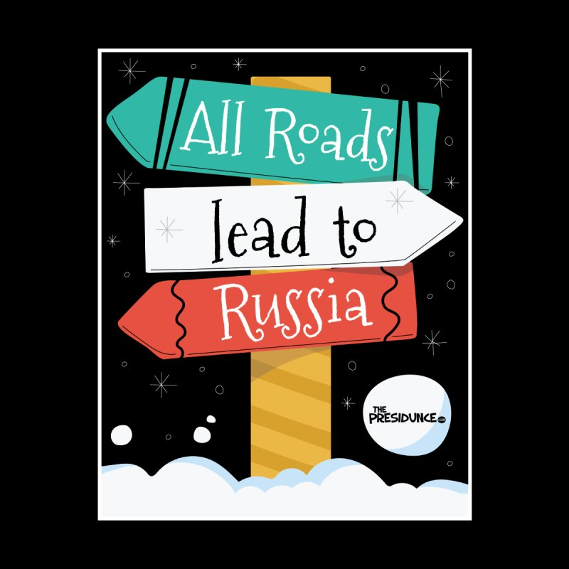 All Roads Lead to Russia Men's Longsleeve T-Shirt by thePresidunce