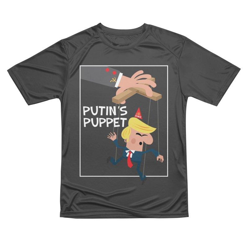 Putin's Puppet Men's Performance T-Shirt by thePresidunce