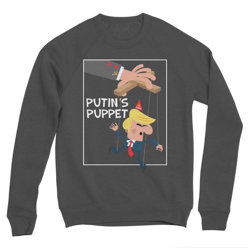Putin's Puppet Men's Sponge Fleece Sweatshirt by thePresidunce