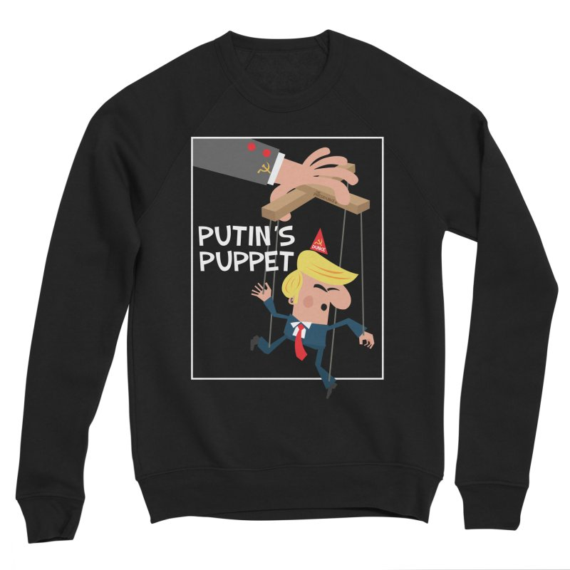 Putin's Puppet Women's Sponge Fleece Sweatshirt by thePresidunce