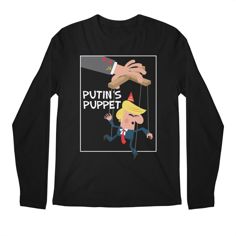 Putin's Puppet Men's Regular Longsleeve T-Shirt by thePresidunce