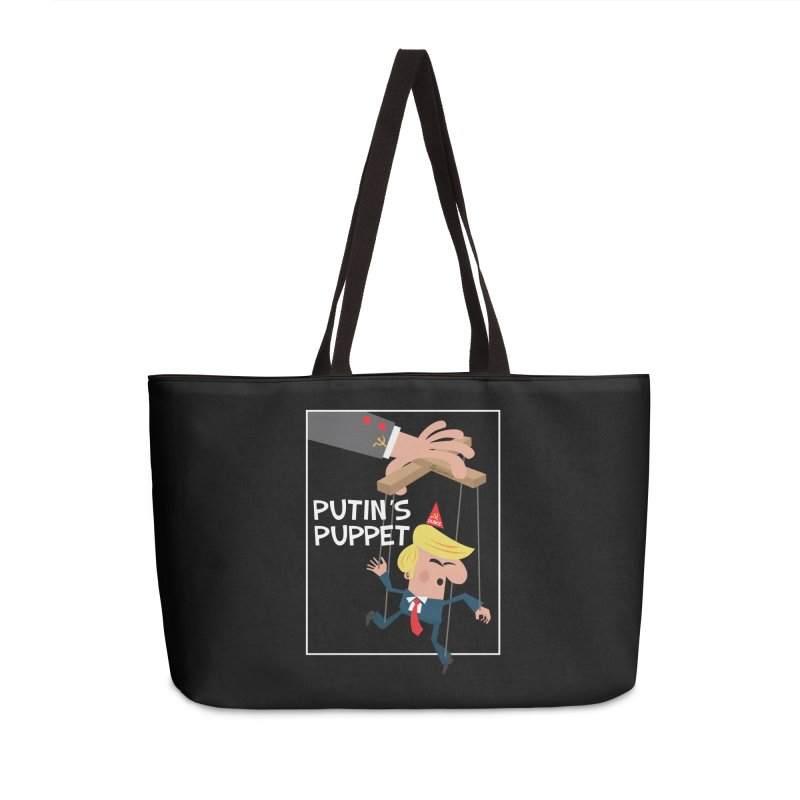 Putin's Puppet Accessories Weekender Bag Bag by thePresidunce