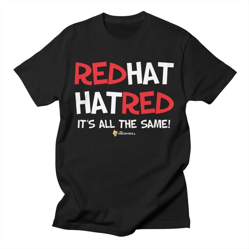 RedHat Men's T-Shirt by thePresidunce