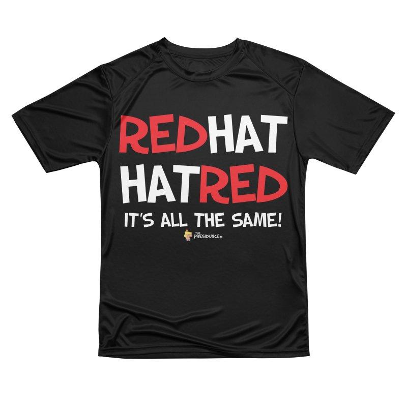 RedHat Men's Performance T-Shirt by thePresidunce